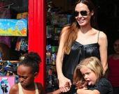 Анджелина Джоли о детях