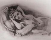 Рисунок обнаженной Кейт Уинслет продан на аукционе