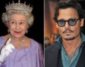 Джонни Депп и Елизавета II родственники
